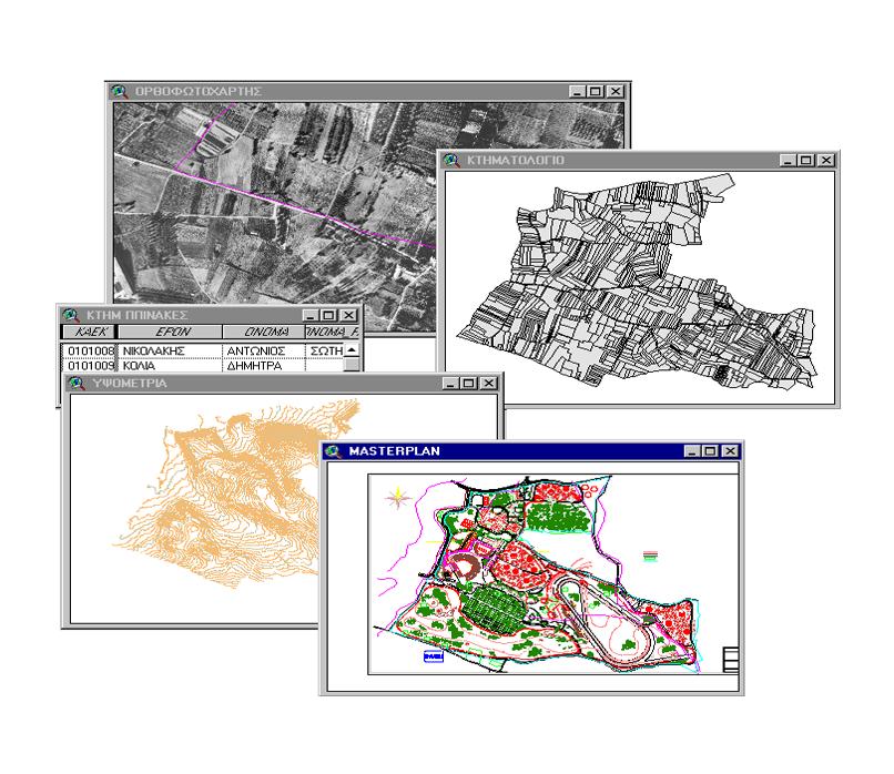 Περιβαλλοντική Μελέτη και Μελέτη Χαρτογράφησης του Ολυμπιακού Κέντρου Ιππασίας και του Νέου Ιπποδρόμου Αθηνών.